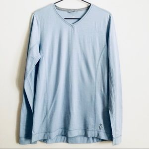 Smartwool V Neck Long Sleeve Shirt